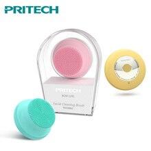 PRITECH מיני USB סיליקון ניקוי מכשיר חטט אקנה הסרת עמיד למים חשמלי פנים מנקה פנים לעיסוי Dropshipping