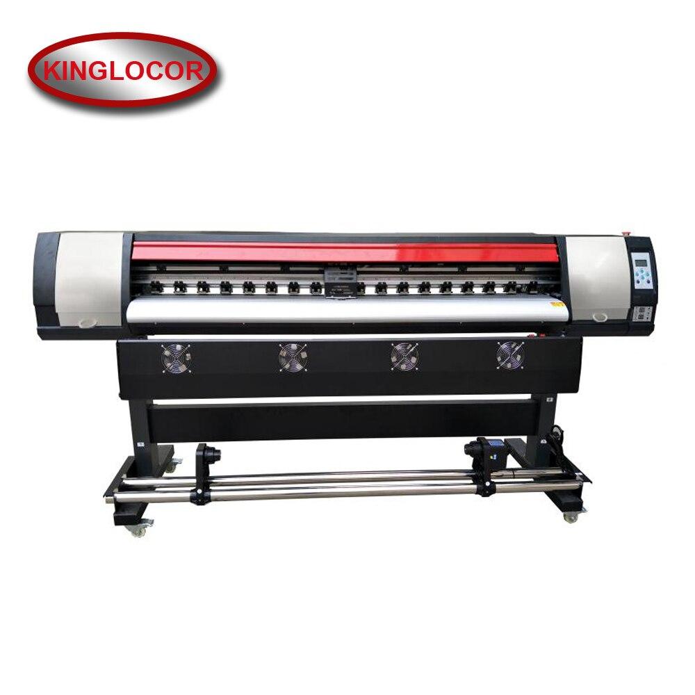 1.8m/6ft Flex Banner Printer Large Format Printer 1.8m Printer Single XP600 Print Head Eco Solvent Free Shipping