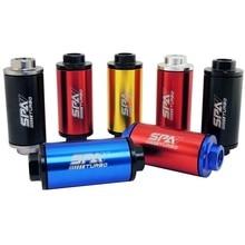 E85 E100 многоразовый гоночный топливный фильтр AN-10 10AN AN10 8AN 8 мм Фитинги включены для гонки 044 предфильтр EFI carb 50 микрон