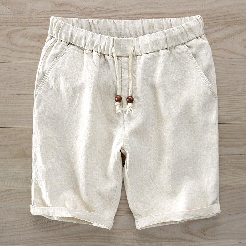 Свободные pure color тонкий белье мужской лето весело и половина брюки молодых людей Китая 5 минут брюки ветер летом