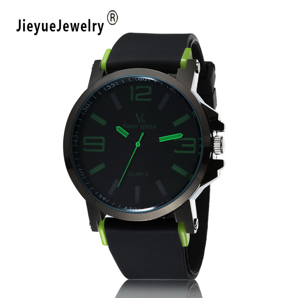 Fashion Brand Casual Watches Men Military Sports Watch Quartz Analog Wrist watch Male Relogio Masculino free shipping sports fashion silicone quartz watch men v6 brand hours big face wrist watch c6428