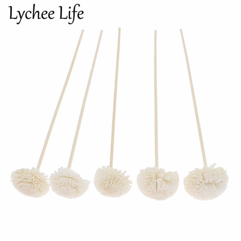 5pcs 3mm Reed Diffuser เปลี่ยน Stick ดอกไม้หวาย Reed Diffuser Refill Stick DIY Handmade Home Decor