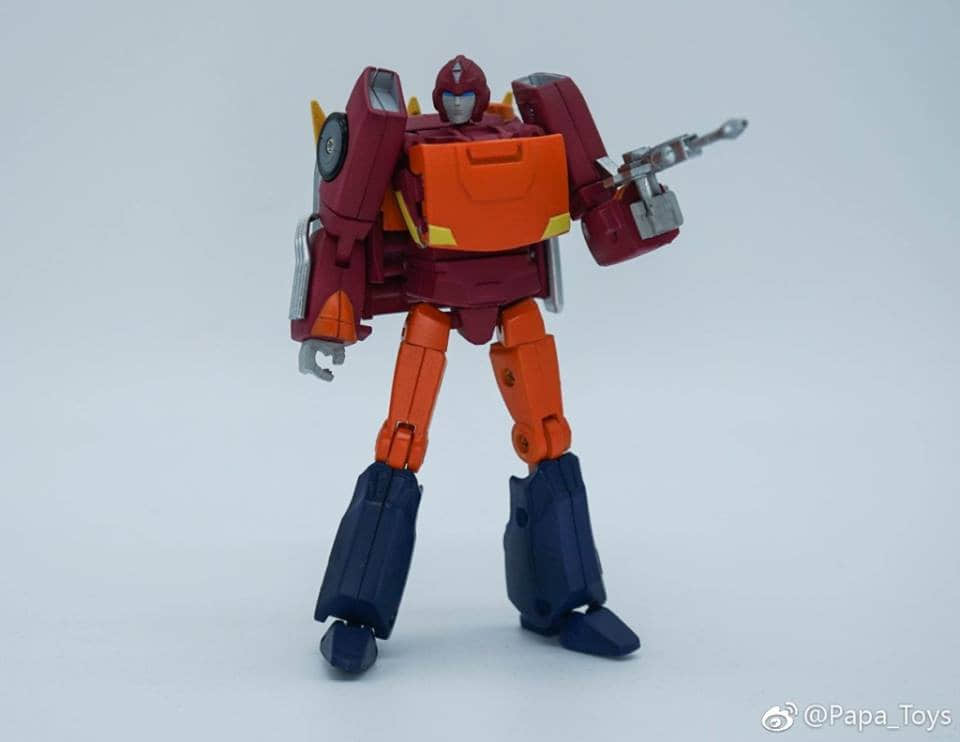 Show Z Store] Papa Toys PPT-04 PPT04 Hot Rod Transformation