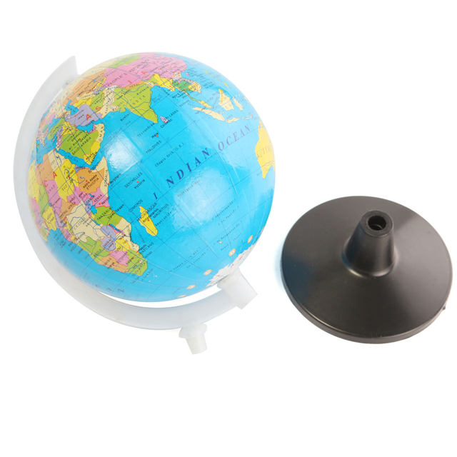 Online shop 85cm plastic mini world globe atlas map with swivel 85cm plastic mini world globe atlas map with swivel stand geography montessori educational toys for child kid gift in english gumiabroncs Images