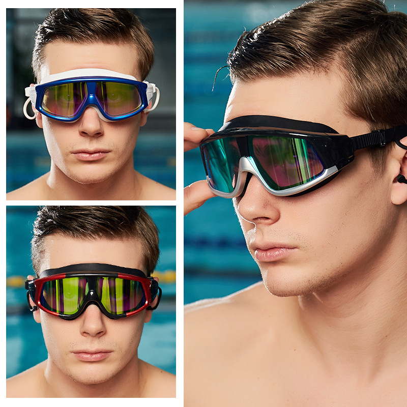 Professional Swimming Goggles For Men Swim Glasses Anti Fog UV Protection Water Spectacle Goggle Zwembad Natacion Hombre.A50