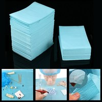 125pcs Disposable Tattoo Clean Pad Waterproof Medical Paper Tablecloths Mat Double Layer Sheets Tattoo Accessories 45