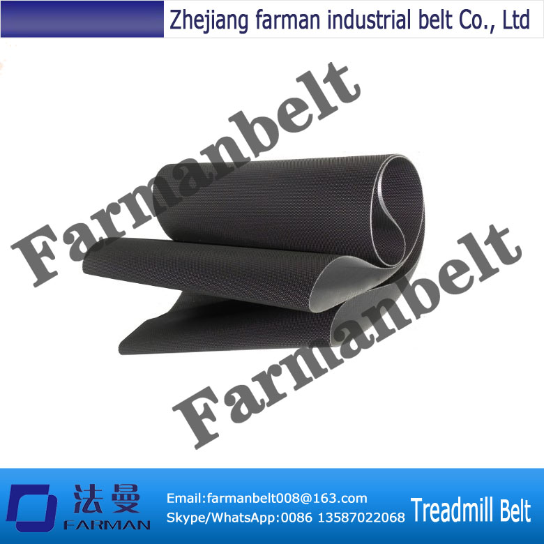 Durable 2.3mm thickness pvc treadmill belt with low price