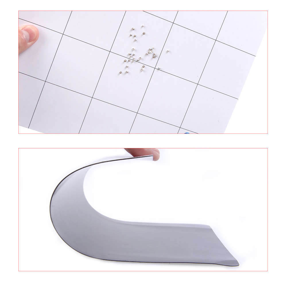 250x200mm Universal Magnetic Design Working Pad Mat Repair Tool Screw Sort Guard Keeper Chart Mat For Repairing Phone for iphone in Phone Accessory Bundles Sets from Cellphones Telecommunications