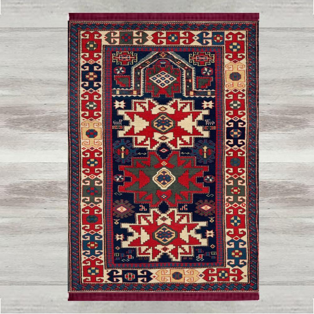 Autre Morrocan Vintage rétro 3d impression turc islamique musulman tapis de prière tassed Anti Slip moderne tapis de prière Ramadan Eid cadeaux