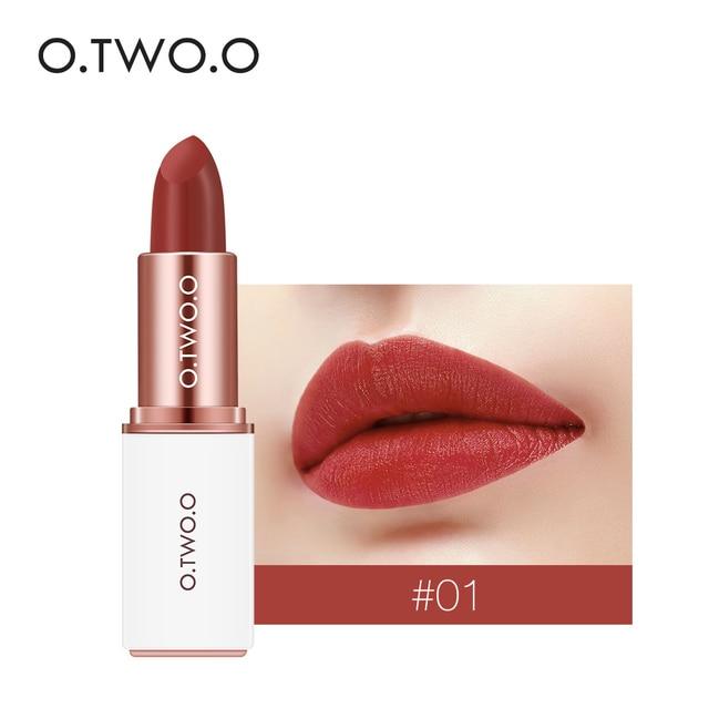 O.TWO.O 12 Colors Velvet Lipst…