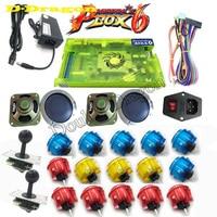 original Arcade parts Bundles kit With Pandora Box 6 Joystick copy sanwa obsc 30 Button To Build Up Arcade