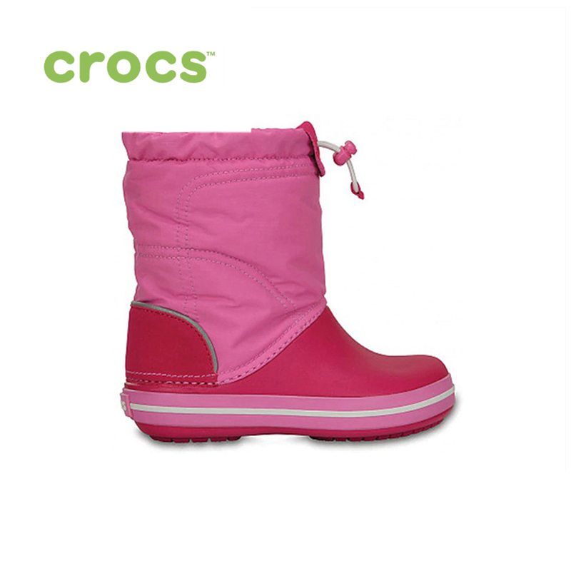 CROCS Crocband LodgePoint Boot K KIDS or boys/for girls, children, kids TmallFS shoes дутики женские crocs crocband winter boot women цвет синий 205314 410 размер w6 36