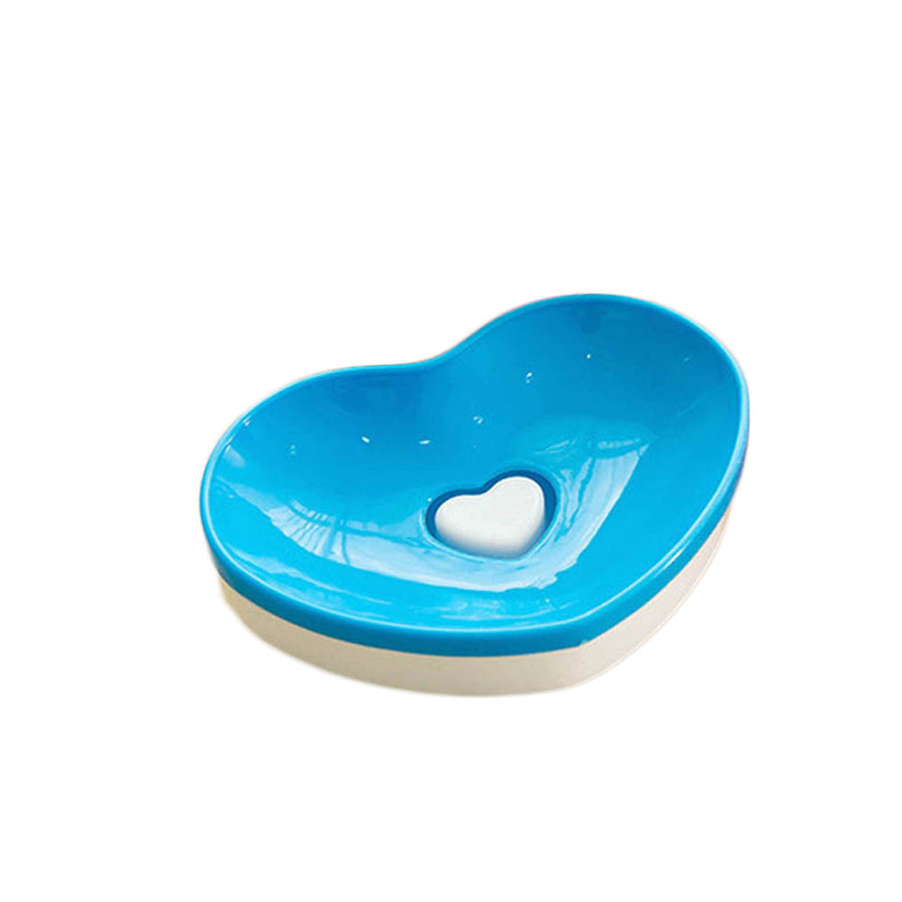 1Pcs! Creative bathroom soap dish double decker soap box sweet heart ...