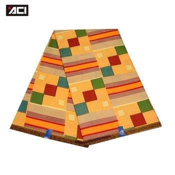 ACI mejor venta de tela de cera africana de Ankara 6 yardas/pieza de tela de cera Real de Moda Africana patchwork