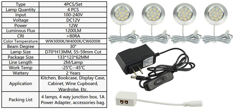 3W Cabinet Lamp Suit 1