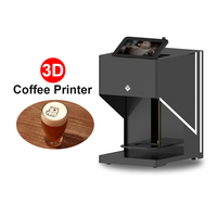 Automatic Coffee Printer 3D Selfie Printers With WIFI for Coffee Cappuccino Candy Cookies Chocolate Tea Biscuits Bread Jelly