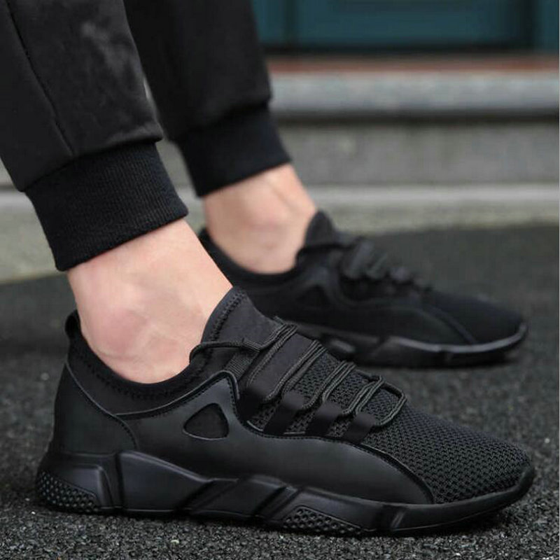 Hot SUMMER Fashion brand Men Casual Shoes Male Sneakers Casual Flats Shoes Gym Trainers soft breathable Lace-up male shoes LC-68 2017 mens casual shoes hot sale mens trainers for men lace up breathable fashion summer autumn flats male shoes adult sneakers
