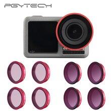 PGYTECH Für DJI Osmo Action Professionelle Filter UV CPL ND 8 16 32 64 PL objektiv Filter ND8 ND16 ND32 ND64