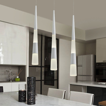 Modern Cylinder Pipe Pendant Lights Kitchen Lamp Island Dining Room Bar Hanging Lighting Fixture