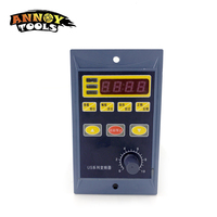 220V 0.4KW 400W single phase input and 220v 3 phase output frequency inverter for mini ac motor drive, frequency converter