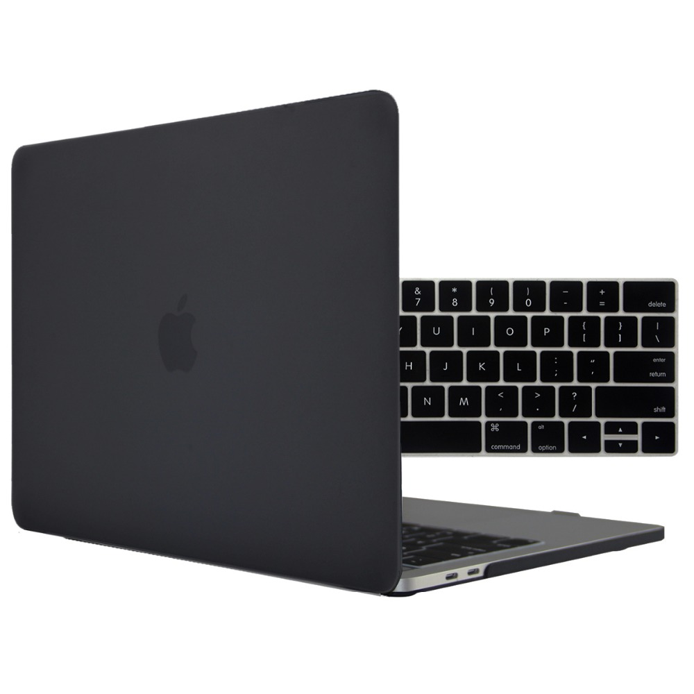 """Satin Hard Case Shock-Proof For 2018-2017-2016 Macbook 13/"""" 15/"""" inch Touch Bar"""