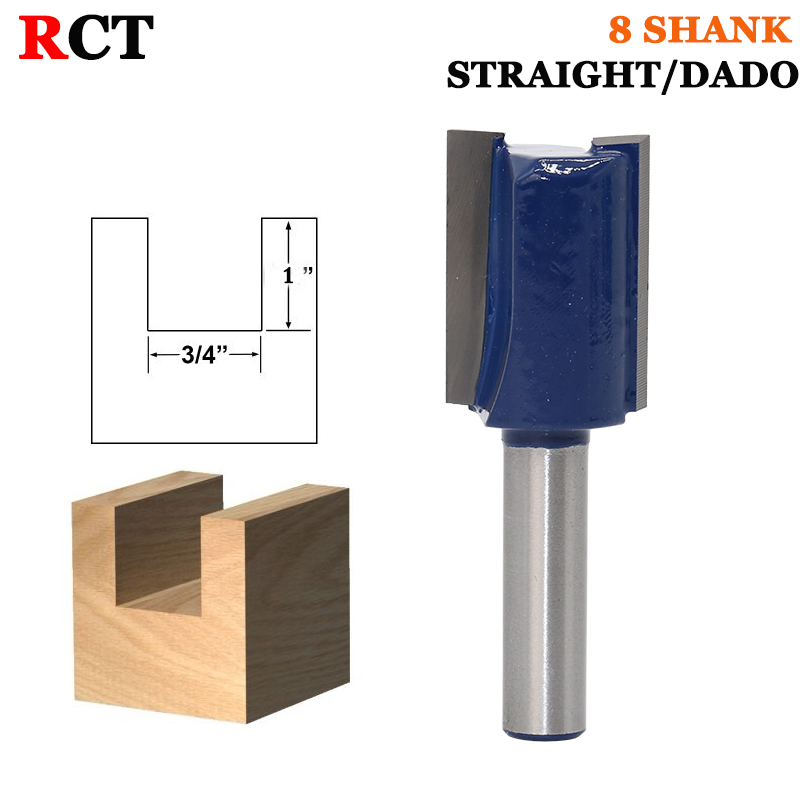 1PC 8mm Shank high quality Straight/Dado Router Bit Set Diameter Wood Cutting Tool 1pc 8mm shank high quality straight dado router bit set diameter wood cutting tool
