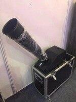 Kleine Konfetti Maschine Mit 4 Meter Schlauch Konfettikanone Schießen Abstand 10 Meter CO2 Maschine Durch Flightcase Pack-in Bühnen-Lichteffekt aus Licht & Beleuchtung bei