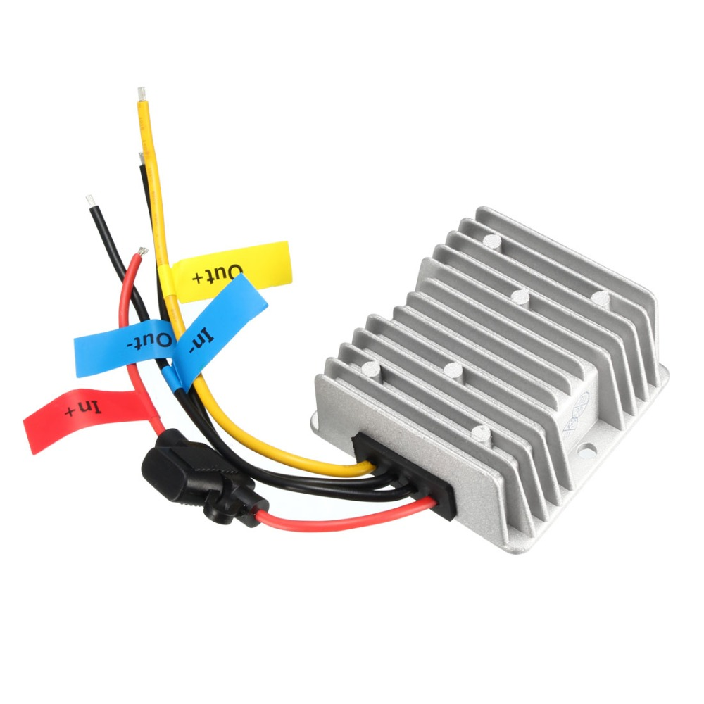 где купить 1 Pcs Voltage Buck Converter Regulator DC 24V Step-Down to DC 12V 20A 240W Waterproof Power Transformer Adapters Supplies дешево