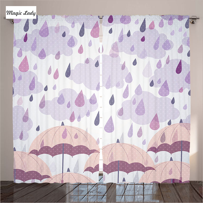 Lilac bedroom curtains