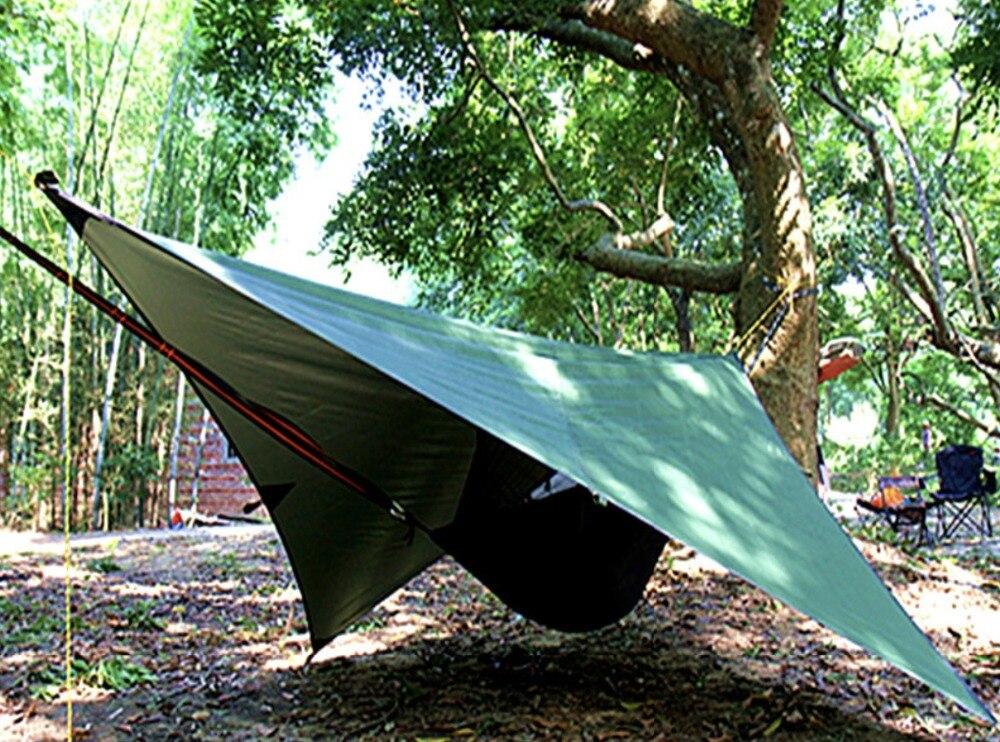Camping Hammock Mosquito Net Hanging Tent Single Bushcraft Tree Outdoor Jungle