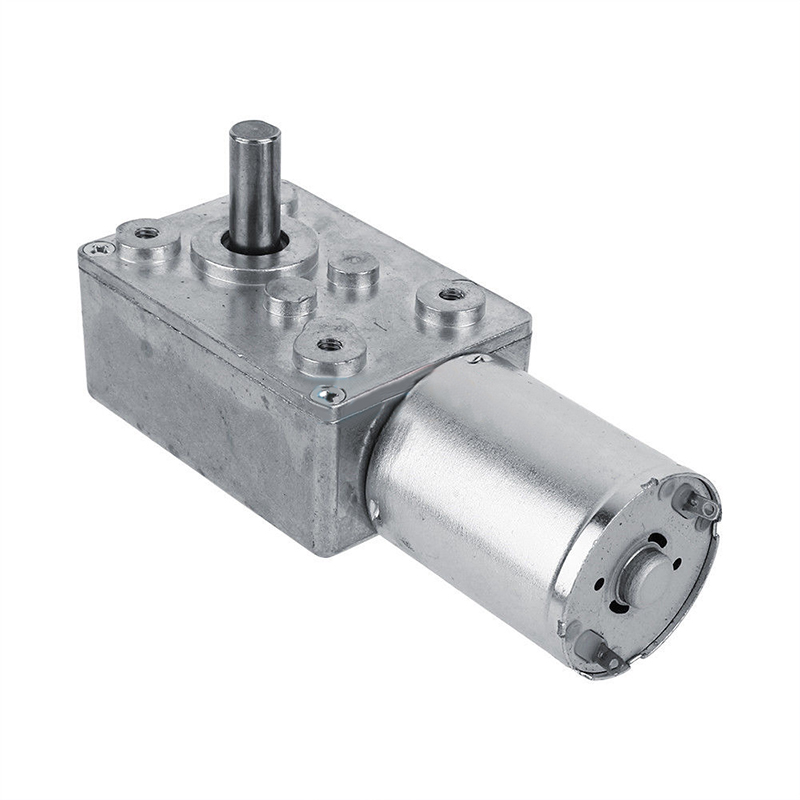 DC 12V Gear Reduction Motor Worm Reversible High Torque Turbo Geared Motor 3RPM Mini Electric Gearbox Reducer цена