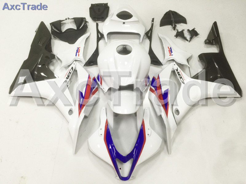 Motorcycle Fairings Kits For Honda CBR600RR CBR600 CBR 600 RR 2007 2008 07 08 F5 ABS Plastic Injection Fairing Kit White Black abs injection fairings kit for honda 600 rr f5 fairing set 07 08 cbr600rr cbr 600rr 2007 2008 castrol motorcycle bodywork part