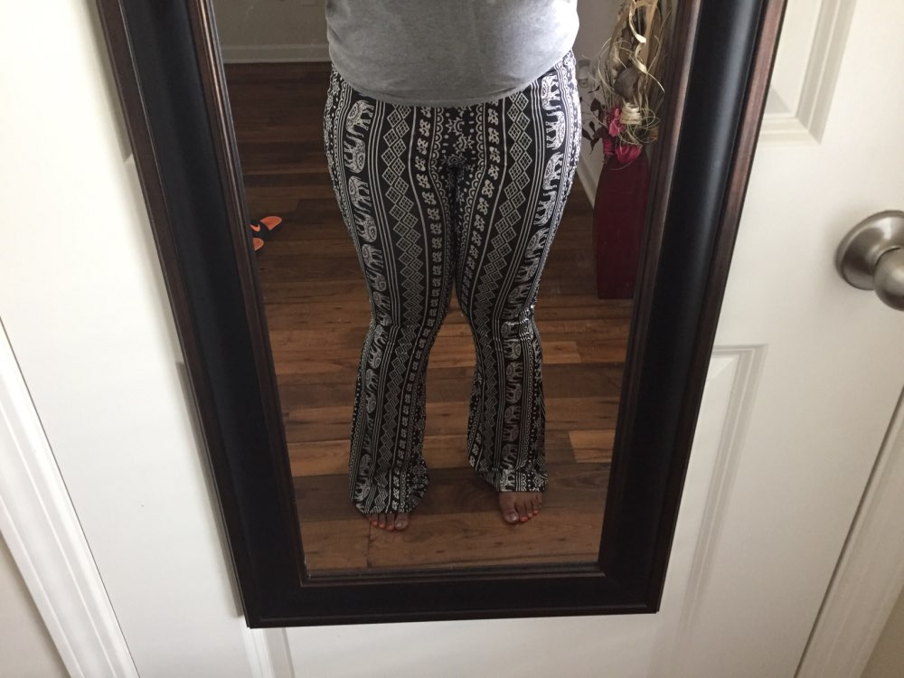 70s Tribal Bell Bottoms photo review
