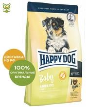 Happy Dog Supreme Baby Lamb & Rice корм для щенков всех пород, Ягненок и рис, 1 кг.