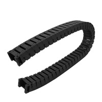 102cm Length Nylon Towline Cable Drag Chain Wire Carrier Black For CNC Machines Transmission Chains Power Transmission Parts