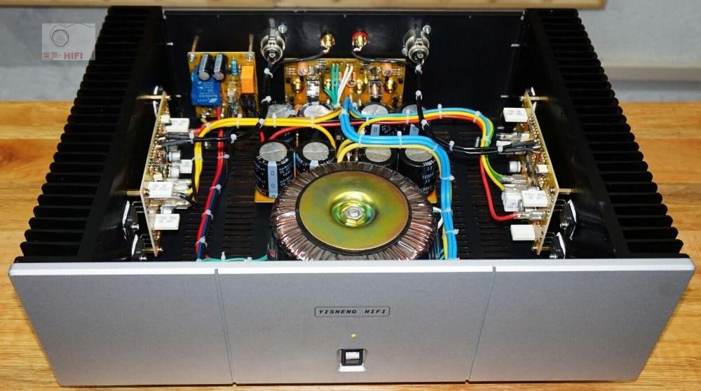 PASS A3/HIFI single ended class a 30W+30W power amplifier / balanced input