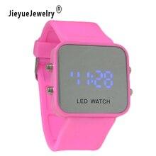 12 Цветов Марка светодиодный электронный умный наручные Водонепроницаемый золото Спорт Смарт-часы Для мужчин Для женщин спортивные наручные часы