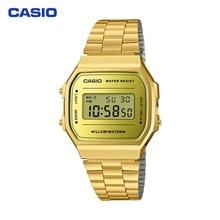 Наручные часы Casio A-168WEGM-9E мужские электронные на браслете