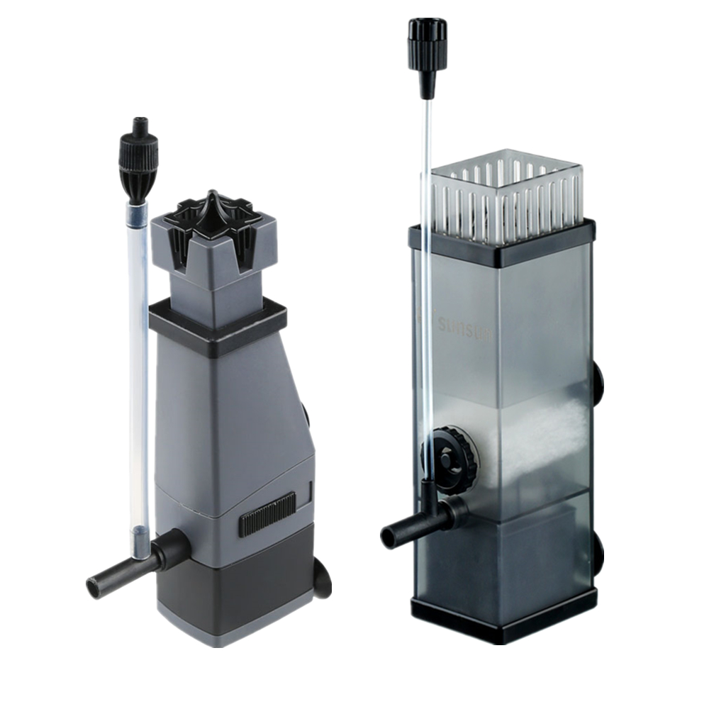 Bomba de aquário Skimmer de Superfície, Removedor De Película de Óleo, bomba Do Filtro de Oxigênio filtro Para Tanque de Peixes Da Lagoa adicionar ar 3W 5W 220v 300L/H