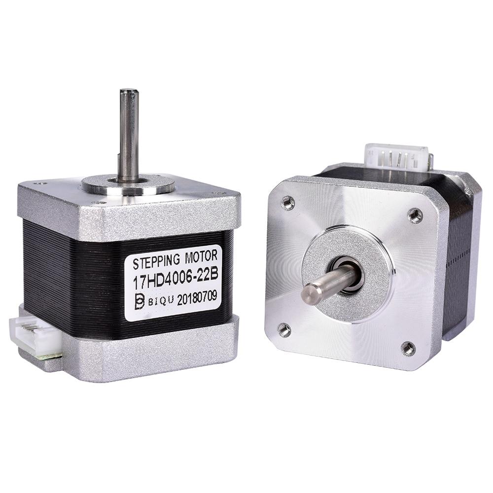5 unids 4-plomo Nema17 40mm Motor paso a paso 42 motor Nema 17 1.3A (17HS4401) motor y CNC XYZ para 3D impresora