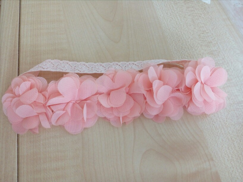 Baby Girl's Hairband With Flowers photo review