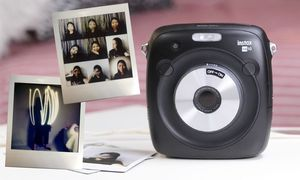 Image 5 - Fujifilm cámara fotográfica instantánea híbrida Instax SQUARE SQ10, original, 100%, Color negro