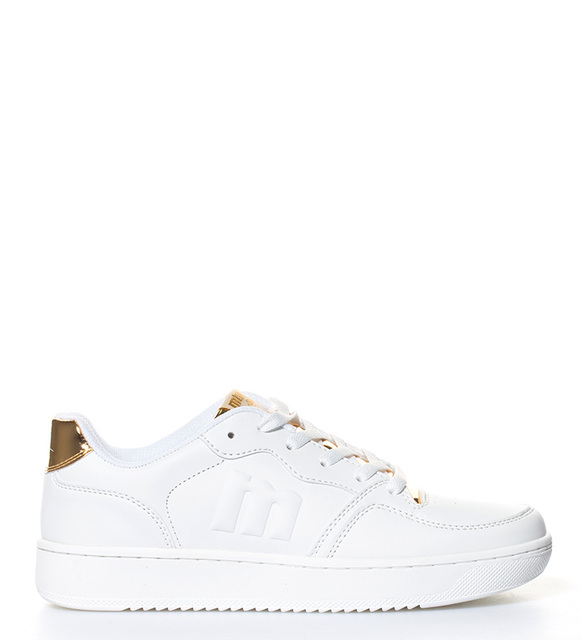 Mustang  Action Woman white shoes, gold
