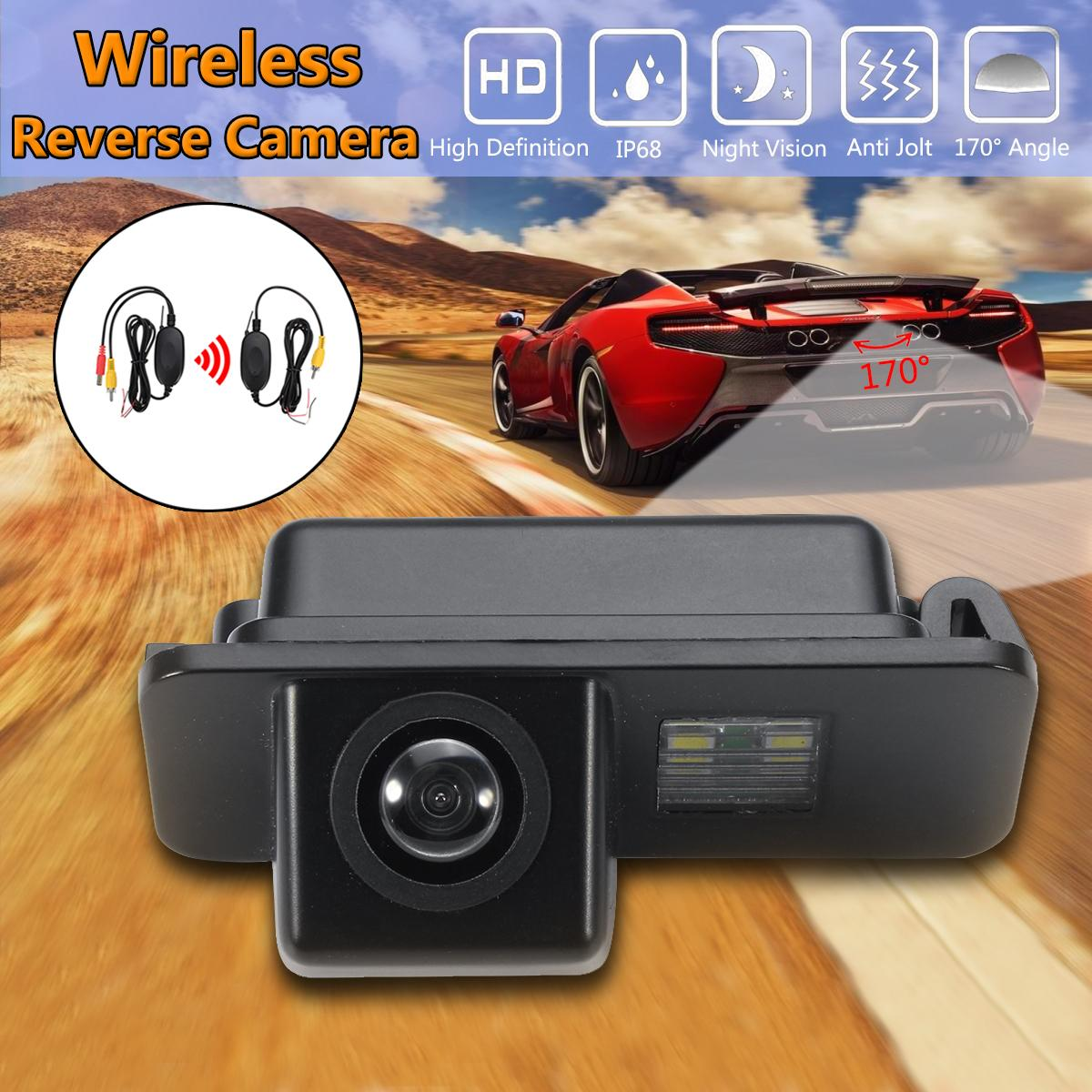 Wireless Car CCD Reverse Rear View Camera For Ford/Mondeo/Fiesta/Focus/S-Max/Kuga nativity sticker book