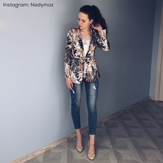 Блейзер с поясом в стиле Zara с Алиэкспресс