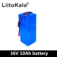 LiitoKala 36 В 10Ah 500 Вт Высокая мощность и емкость 42 в 18650 литиевая батарея ebike электрический автомобиль велосипед мотор скутер с BMS