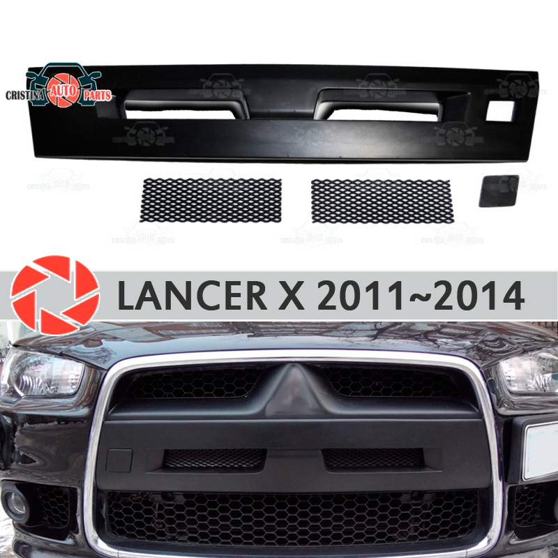 Ducts on the front bumper for Mitsubishi Lancer X 2011-2015 air intake ABS plastic body kit decoration car styling tuning fit for honda vfr1200f 2010 2011 2012 2013 injection abs plastic motorcycle fairing kit bodywork vfr 1200f 10 13 free shipping06