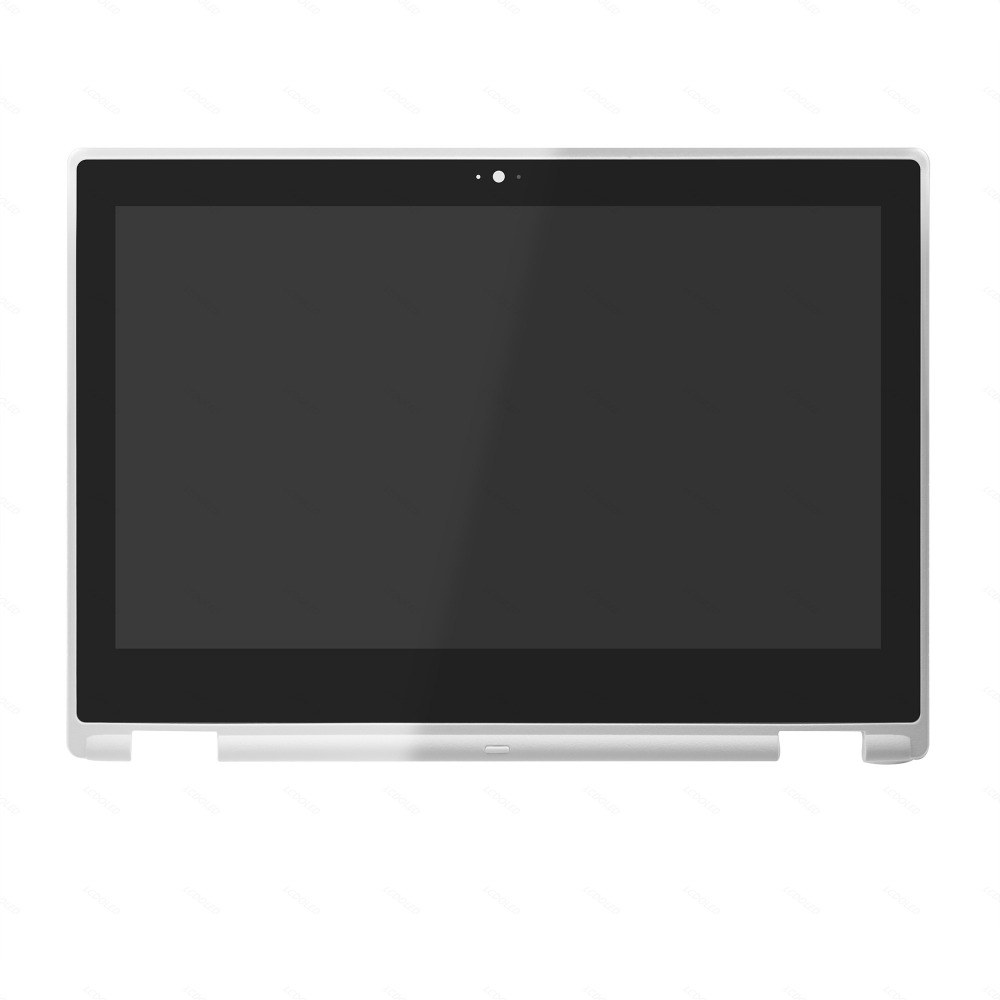 LCD Screen Display Touch Glass Digitizer Assembly +Frame for Acer Chromebook R 11 CB5-132T Series CB5-132T-C9ES CB5-132T-C92J roocase netbook carrying bag for acer cromia ac761 11 6 inch hd chromebook wi fi 3g deluxe series