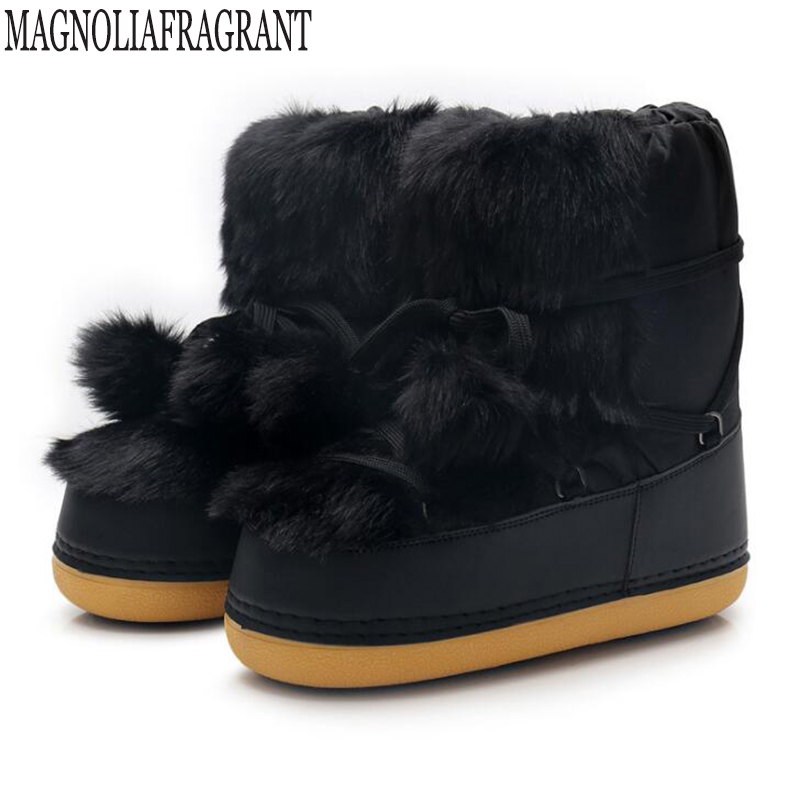 Detail Feedback Questions about Plush winter boots women fashion snow boots  new style 2019 women s shoes Brand shoes Non slip Space boots Warm Women s  boots ... 0a87b9dff26f