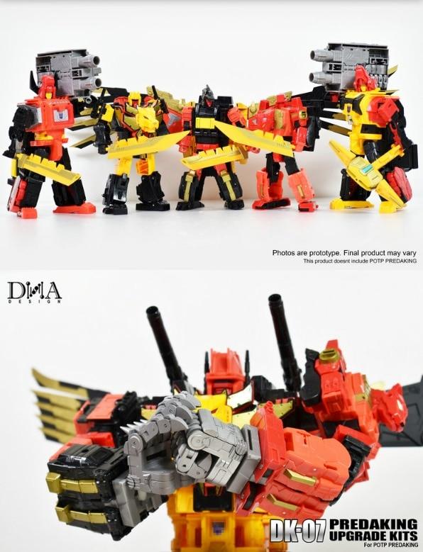 New DNA Design DK-07 Upgrade Kit Apply POTP Predaking In Stock